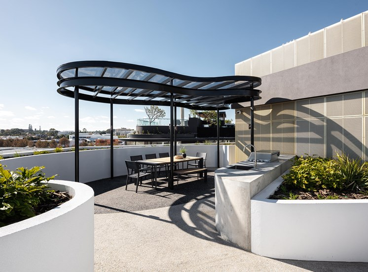 Element 27 - Rooftop lounge with barbeque station