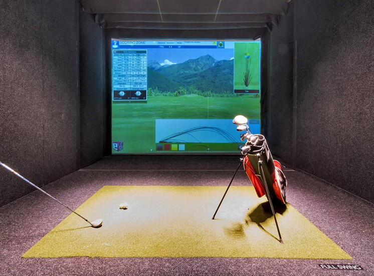 Everlee - Virtual golf driving range