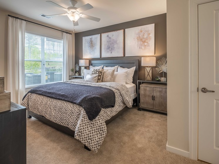 Large Comfortable Bedrooms at Abberly CenterPointe Apartment Homes by HHHunt, Midlothian, 23114