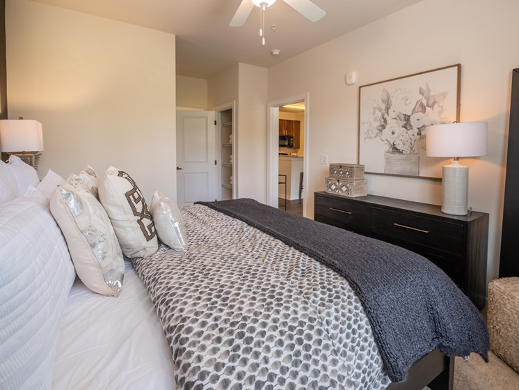 Lavish Bedroom at Abberly CenterPointe Apartment Homes by HHHunt, Midlothian, Virginia