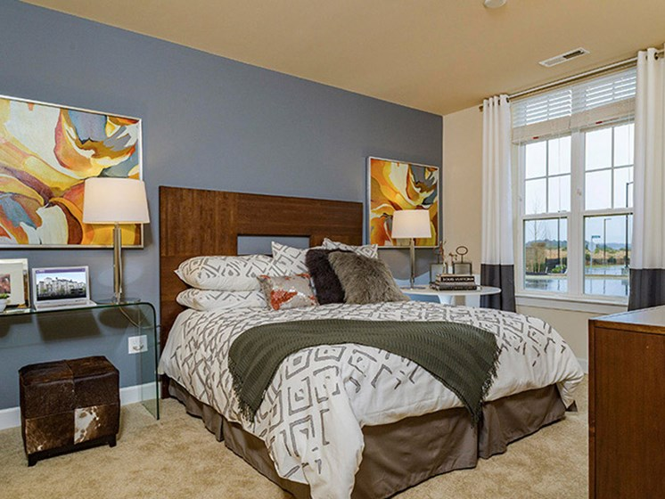 King-Sized Bedrooms at Abberly CenterPointe Apartment Homes, Midlothian, VA, 23114