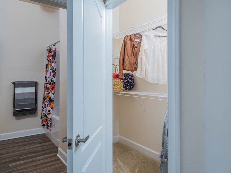 Oversized Closets at Abberly CenterPointe Apartment Homes, Midlothian, Virginia