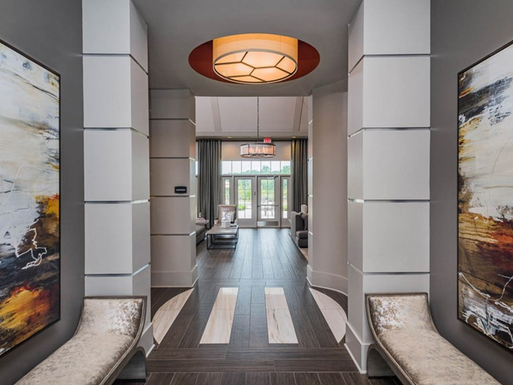 Elevators in all Buildings at Abberly CenterPointe Apartment Homes, Midlothian, VA