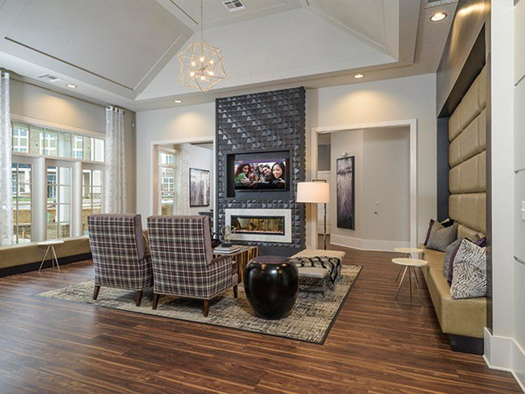 Community Clubhouse at Abberly CenterPointe Apartment Homes, Virginia