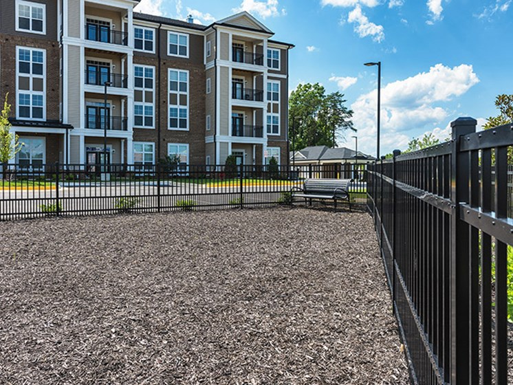 Dog Park at Abberly CenterPointe Apartment Homes, Midlothian, VA, 23114