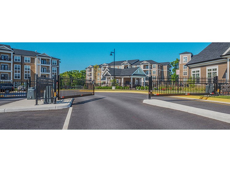Perimeter Gates For Secured Living at Abberly CenterPointe Apartment Homes, Midlothian, VA