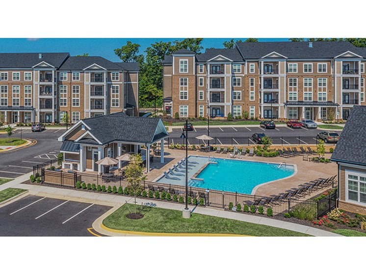 Spectacular View Of Community at Abberly CenterPointe Apartment Homes, Midlothian, Virginia