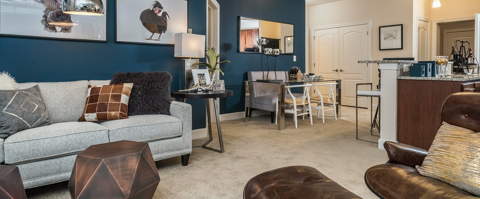 Fully Furnished Apartments at Abberly CenterPointe Apartment Homes, Midlothian, VA