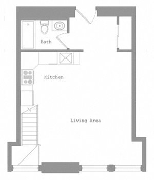 2 Bed - Lower Level