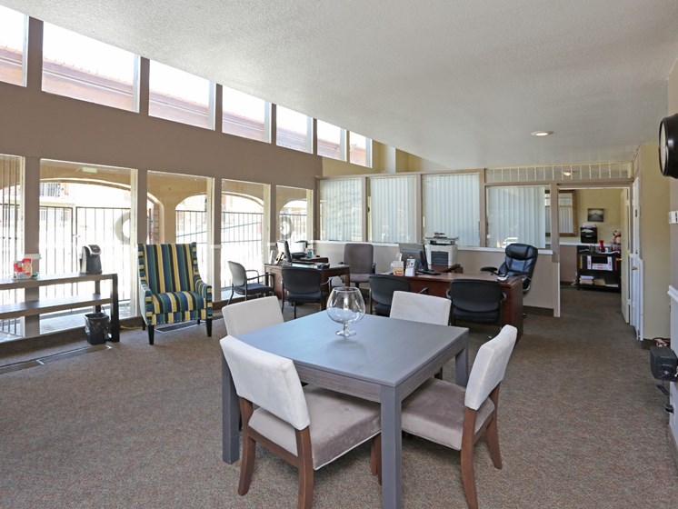 Leasing Office at Canyon Vista Apartments in Albuquerque, NM