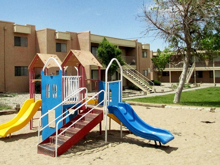 Playground at Canyon Point Apartments in Albuquerque, NM