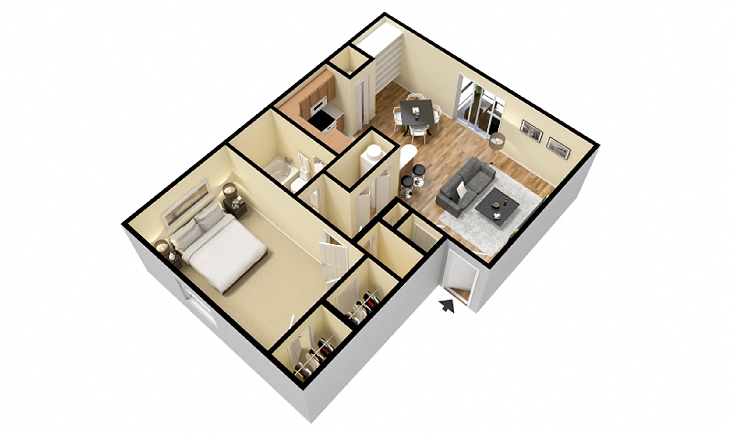 1 and 2 bedroom apartments 2 and 3 bedroom townhomes ft wayne apt