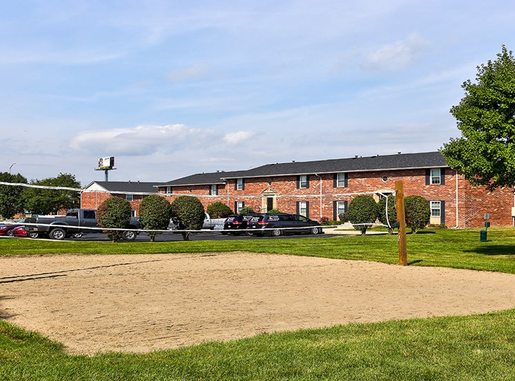 Sand Volleyball Court at Archer's Pointe