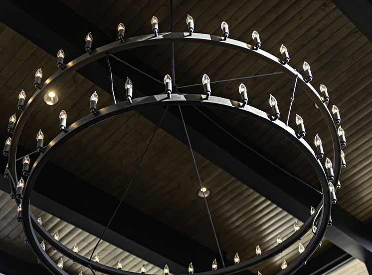 Clubhouse Chandelier