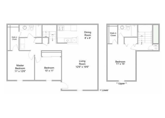 3-Bedroom Townhome