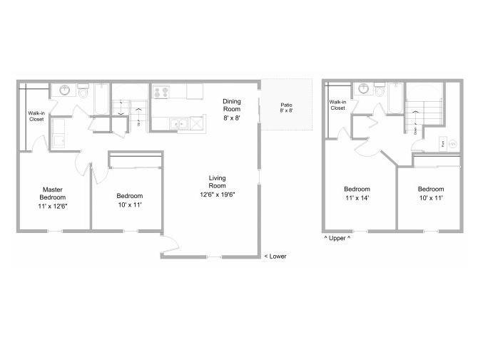 4-Bedroom Townhome