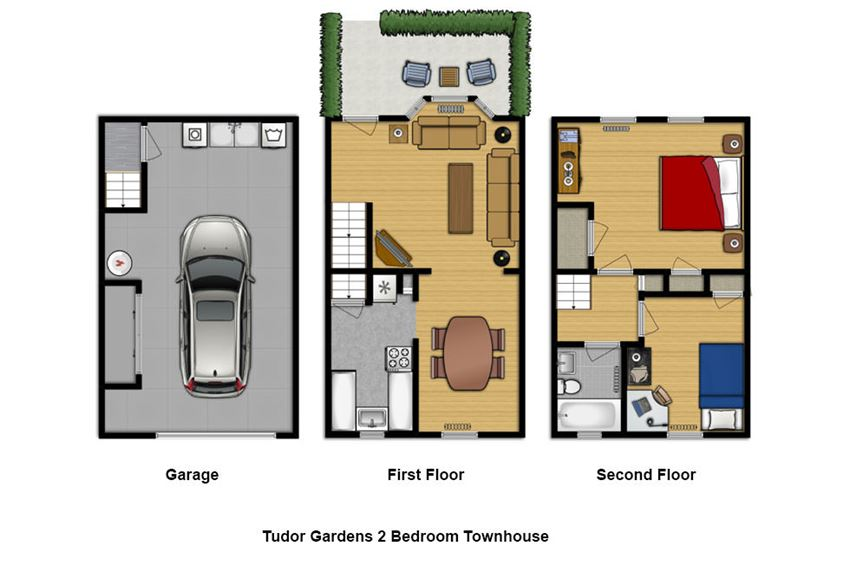 2 Bedroom Town House