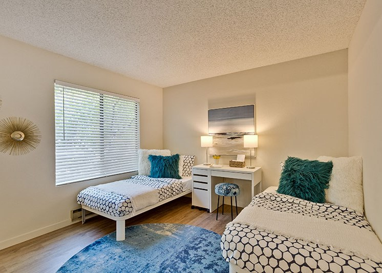 Apartments in Santa Cruz for Rent-Hilltop Apartments Bedroom