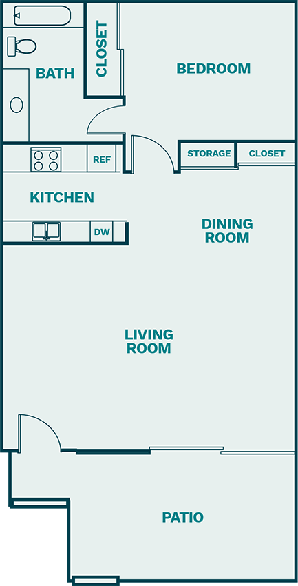 The Breakers Floor Plan 1