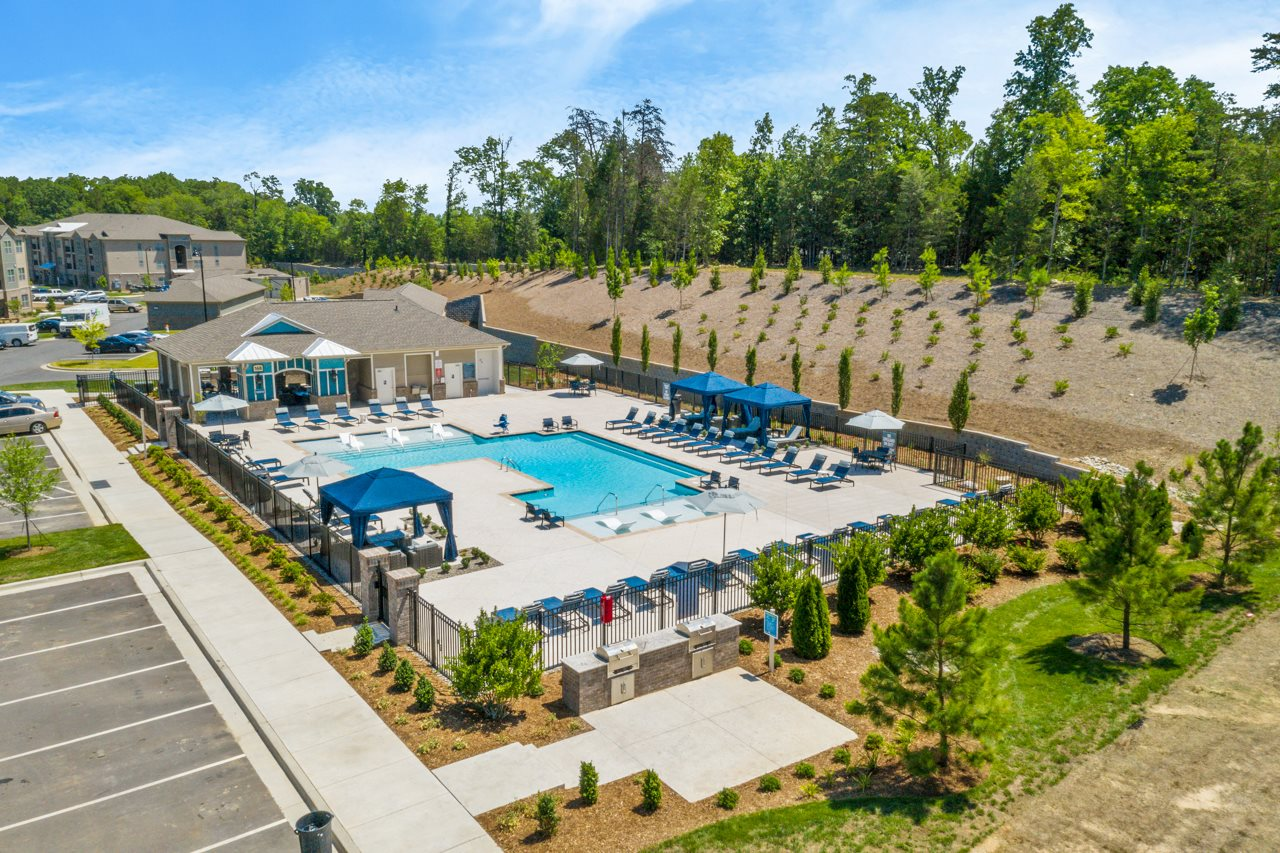 Pool views of The Lodges at Lake Wylie in Lake Wylie, SC