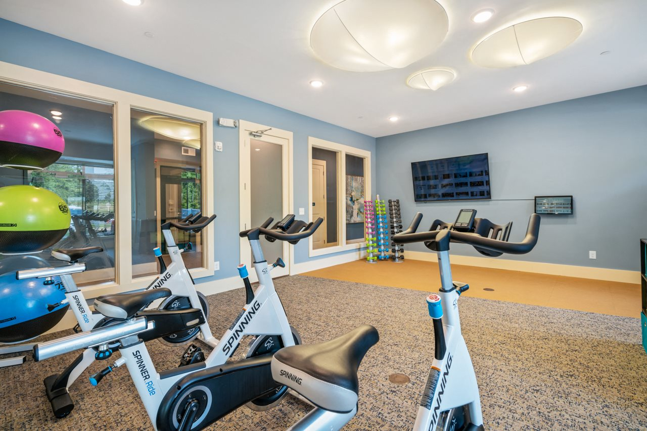 Fitness center at The Lodges at Lake Wylie in Lake Wylie, SC