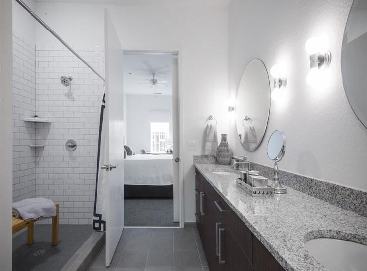 Designer Granite Countertops at 20 Midtown, Birmingham, AL, 35233
