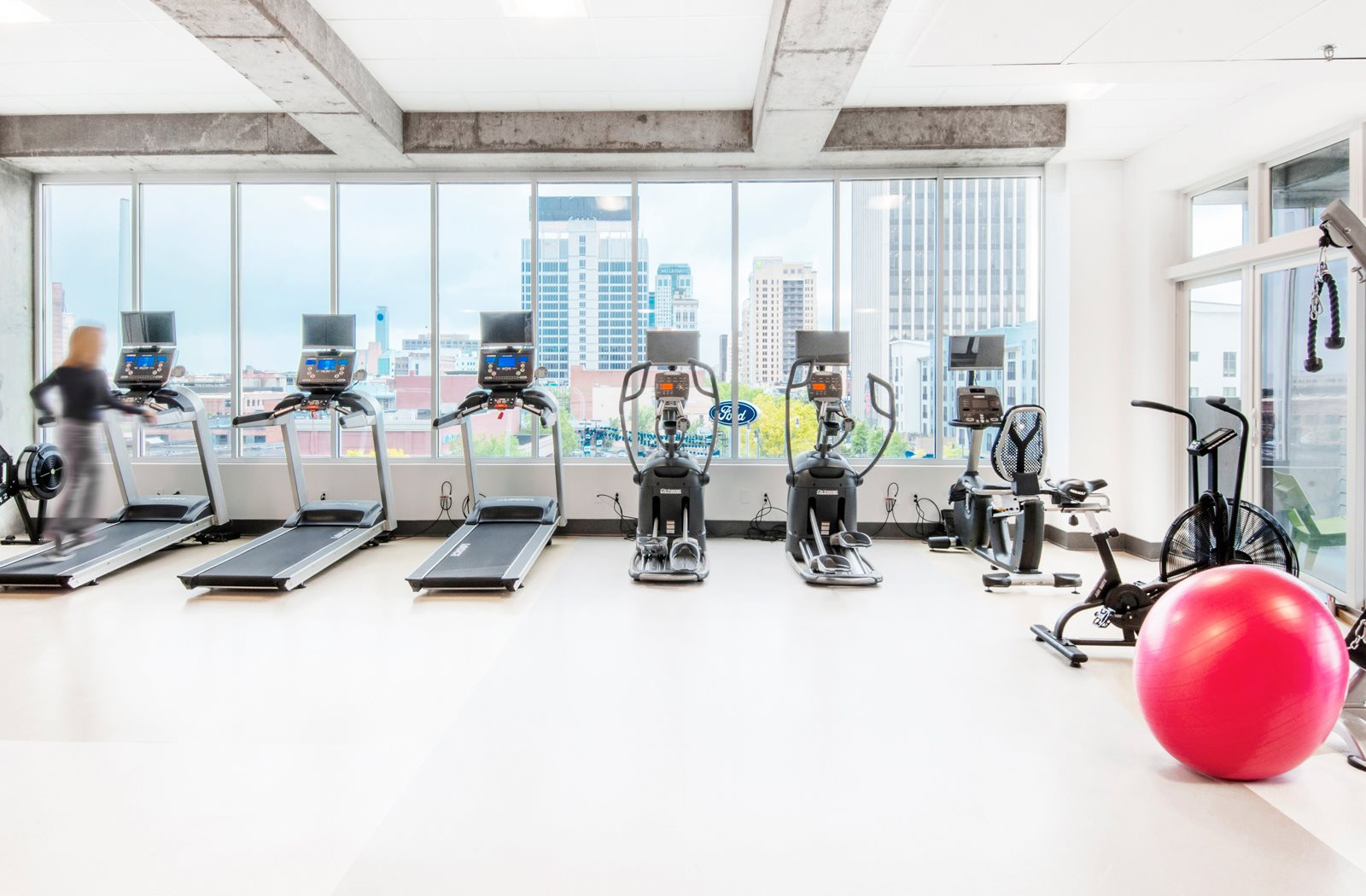 Cardio Equipment at 20 Midtown, Birmingham, 35233