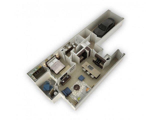 Floor plan at Spectra on 7th, Arizona