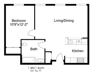 One Bedroom K