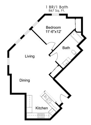 One Bedroom N