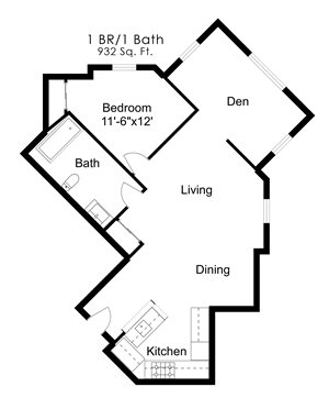 One Bedroom P