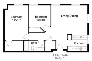 Two Bedroom S