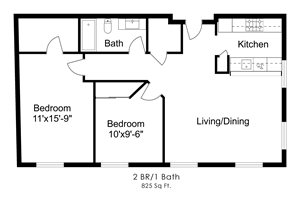 Two Bedroom T