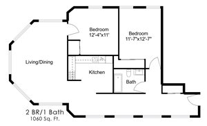 Two Bedroom Y