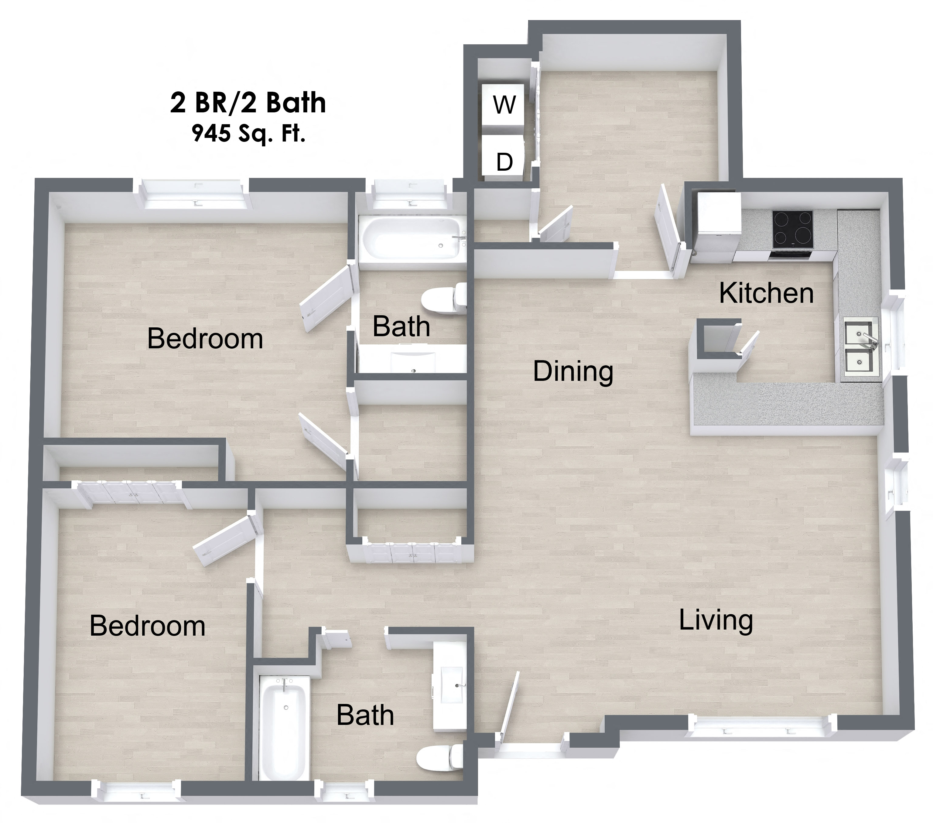 Apartments Beaumont Tx: Floor Plans Of Woodlands Of Beaumont In Beaumont, TX