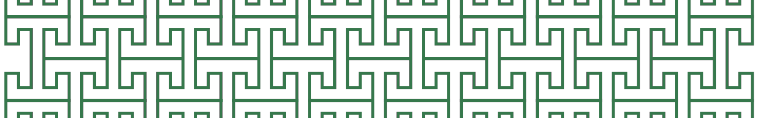 Green Trellis Pattern