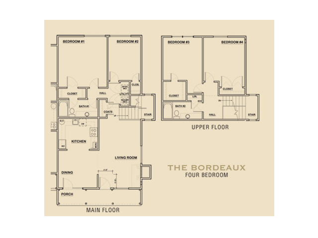 THE BORDEAUX Floor Plan 5