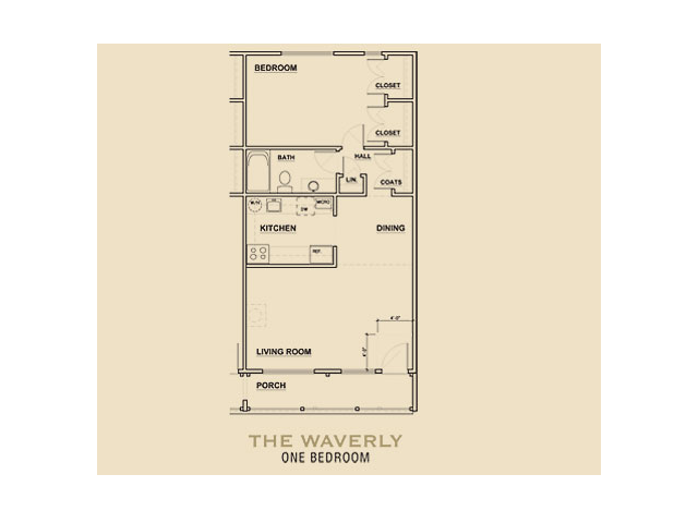 THE WAVERLY Floor Plan 2