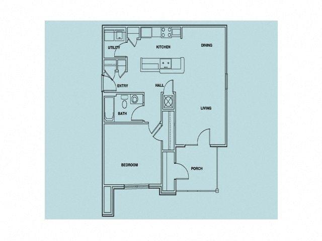 1 BEDROOM_1 Floor Plan 1