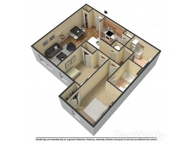 Eagle Suite Floor Plan 6