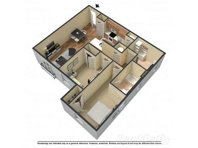 Northern Edge Suite Floor Plan 7