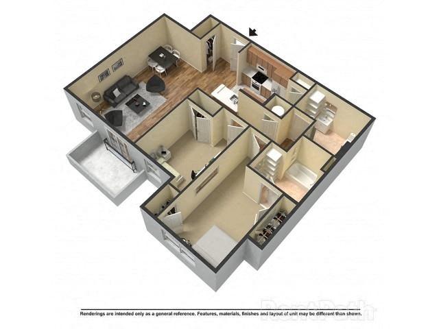 Gator Suite Floor Plan 9