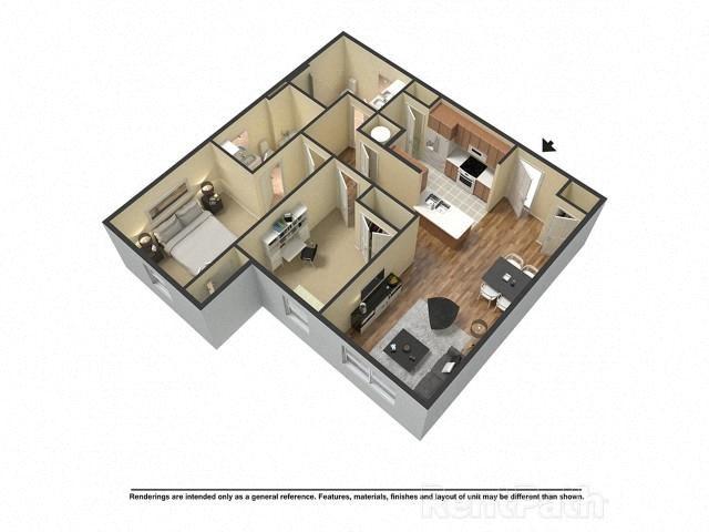 Creeks Edge Suite Floor Plan 10