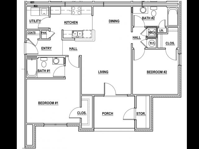 2X2_1 Floor Plan 2