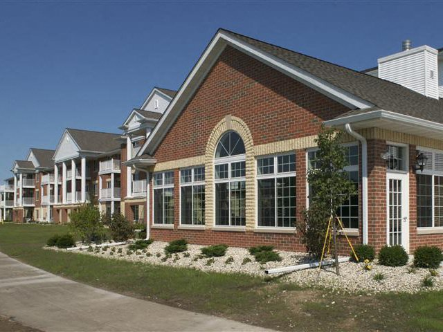 Beautiful Brick Like Construction at Wildwood Highlands Apartments & Townhomes 55+, Menomonee Falls, WI,53051