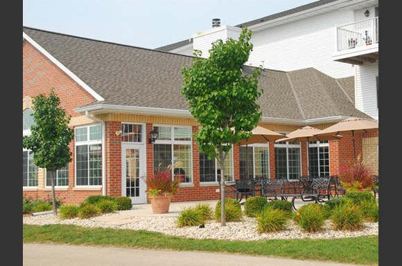 Beautifully-Landscaped Grounds at Wildwood Highlands Apartments & Townhomes 55+, Menomonee Falls, WI,53051