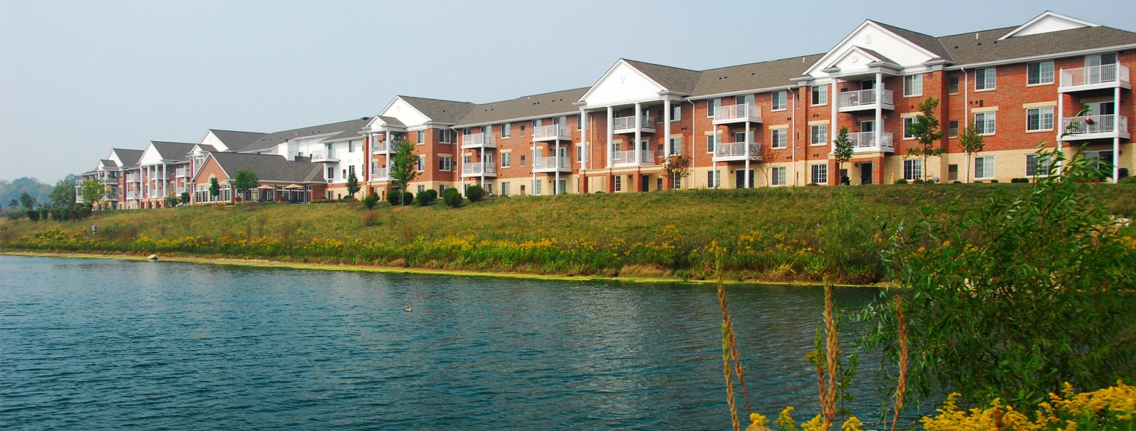Beautiful Community Beside the Lake at Wildwood Highlands Apartments & Townhomes 55+, Menomonee Falls, WI,53051