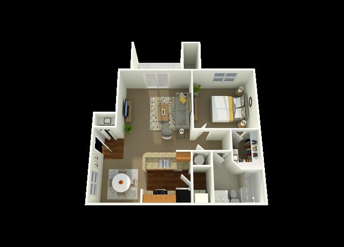 Aspen 1 Floor Plan 1