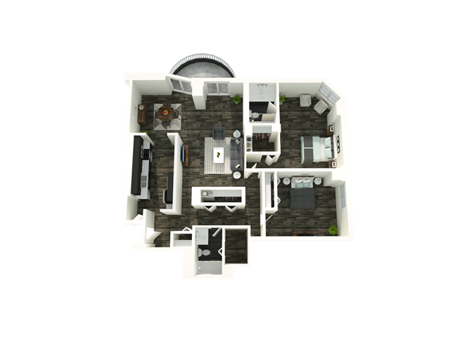 2 Bedroom 01/22 Floor Plan 5