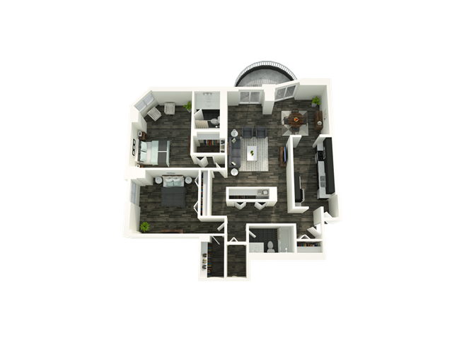 2 Bedroom 02/21 Floor Plan 6